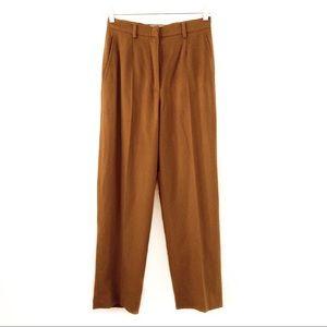 MaxMara Angora Rabbit & Virgin Wool Trousers Pants